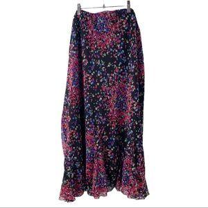 Cato Confetti Print Midi Skirt